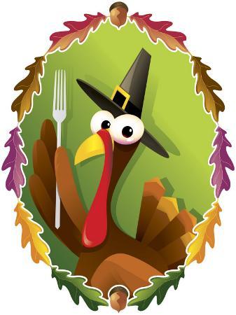 anthropomorphic-turkey-pilgrim-with-fork