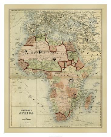 antique-map-of-africa