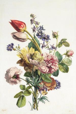 antoine-berjon-study-of-a-bunch-of-flowers-1817