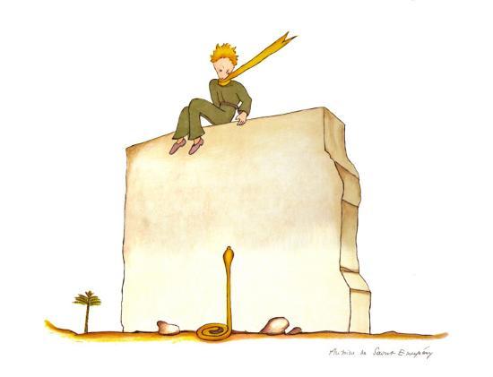 antoine-de-saint-exupery-le-petit-prince-et-le-serpent