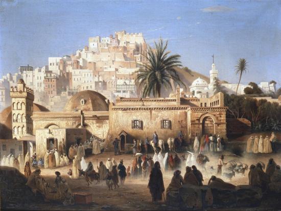 antoine-victor-joinville-mosque-of-el-mecolla-algiers-c1821-1849