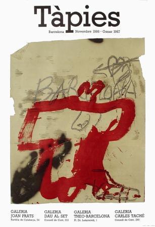 antoni-tapies-expo-86-galeria-joan-prats