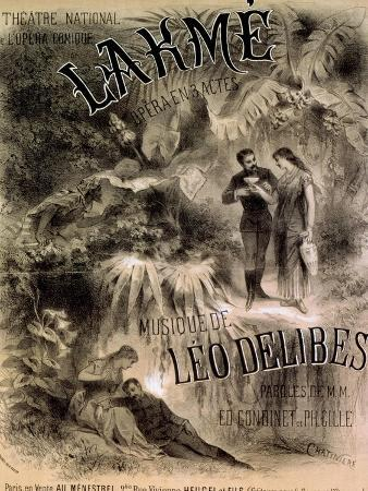 antonin-marie-chatiniere-poster-advertising-lakme-opera-by-leo-delibes-1861-91