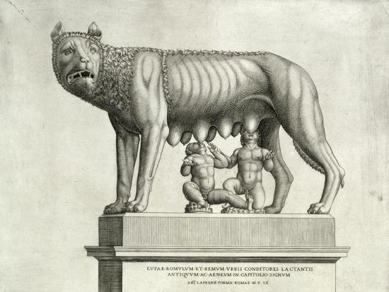 antonio-lafreri-etruscan-bronze-of-the-she-wolf-suckling-romulus-and-remus-5th-cent-bc-capitoline-museum-c-1552