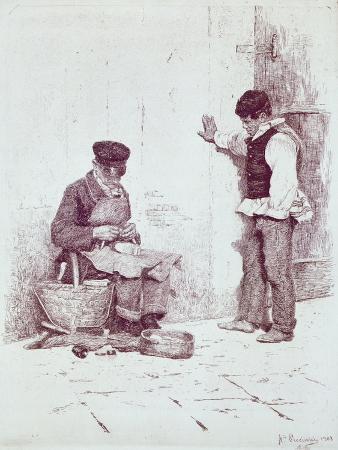 antonio-pirandello-the-cobbler-1908
