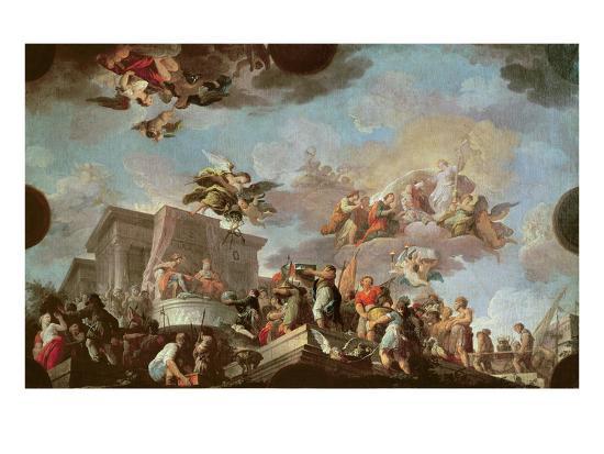 antonio-the-elder-gonzalez-velazquez-christopher-columbus-1450-1506-offering-the-new-world-to-the-catholic-kings-before-1765