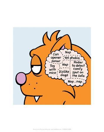 antony-smith-cat-thoughts-antony-smith-learn-to-speak-cat-cartoon-print