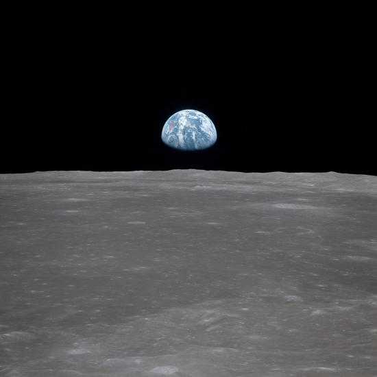 earthrise from moon apollo - photo #15