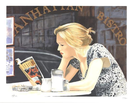 arie-azene-reading-at-the-cafe