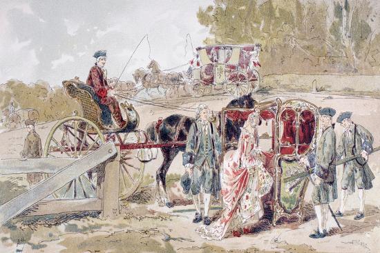 armand-jean-heins-rich-lady-entering-a-sedan-chair-1886