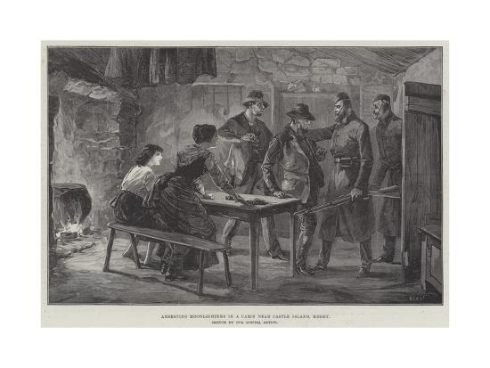 arresting-moonlighters-in-a-cabin-near-castle-island-kerry
