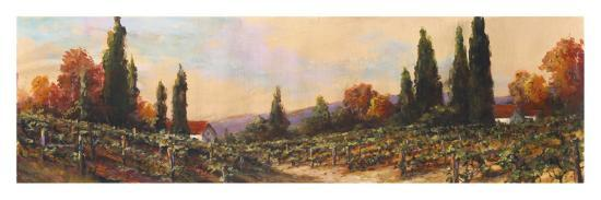 art-fronckowiak-autumn-vineyard-i
