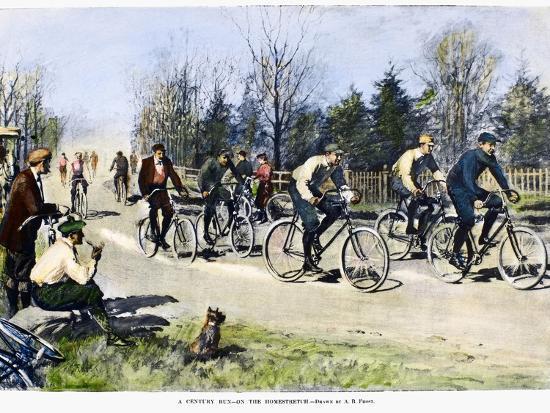 arthur-burdett-frost-bicycle-race-1896