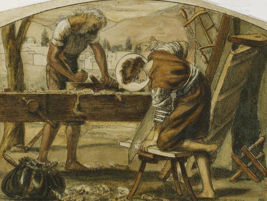 arthur-hughes-the-carpenter