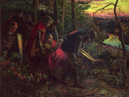 arthur-hughes-the-knight-of-the-sun-c-1859-60