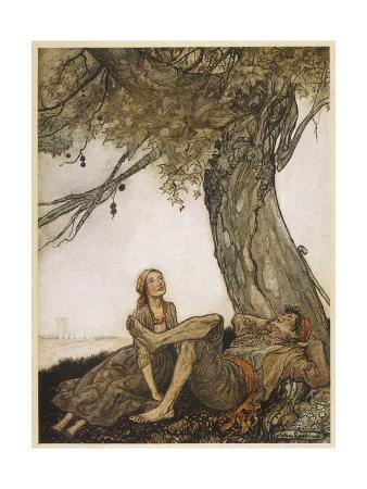 arthur-rackham-aesop-travellers-tree