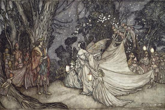arthur-rackham-the-meeting-of-oberon-and-titania-1908