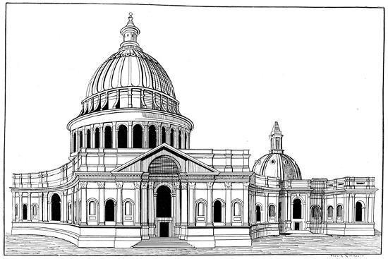 arthur-robertson-sir-christopher-wren-s-original-model-for-st-paul-s-cathedral-london-c1670-1672