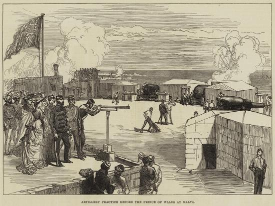 artillery-practice-before-the-prince-of-wales-at-malta