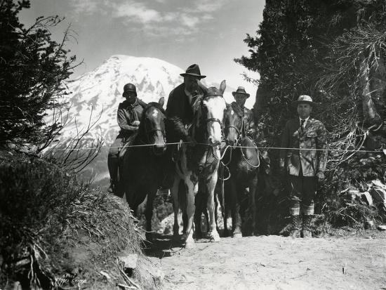 ashael-curtis-dedication-of-mount-rainier-national-park-horse-trail-july-9-1931