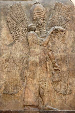 assyrian-relief-of-winged-genie