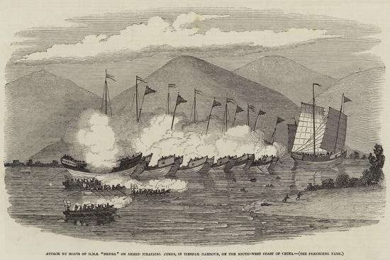 attack-by-boats-of-hms-medea-on-armed-piratical-junks