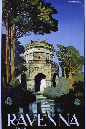 attilio-rauaglia-ravenna-travel-poster