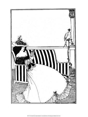 aubrey-beardsley-reading-woman