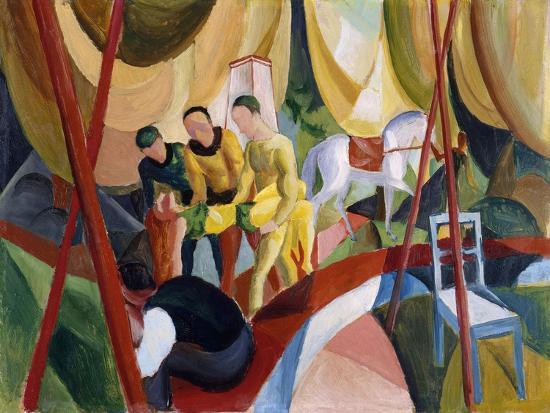 august-macke-circus-1913