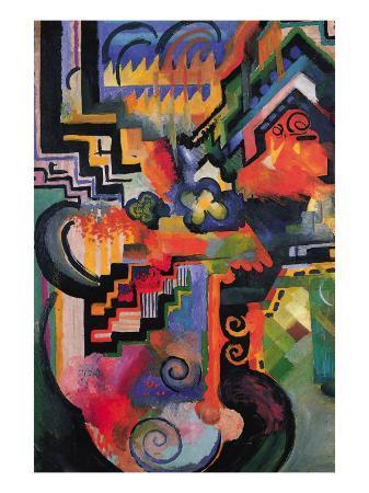 auguste-macke-colored-composition-homage-sebastian-johann-bach