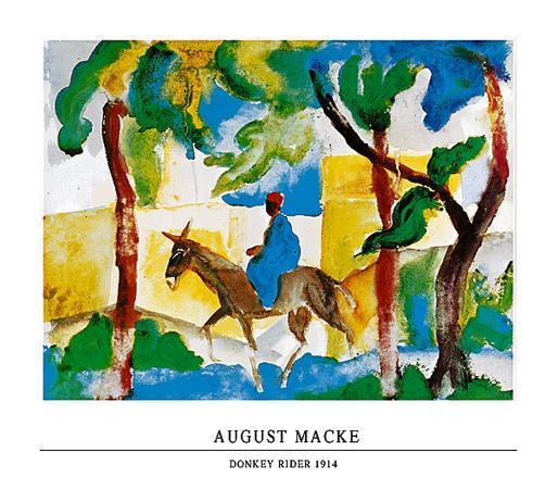 auguste-macke-donkey-rider