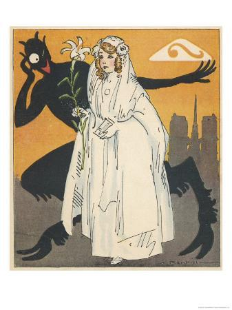 auguste-roubille-virtuous-french-girl-on-the-way-to-her-first-communion-encounters-a-devil