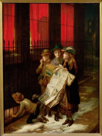 augustus-edward-mulready-carol-singers-1889