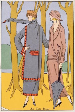 autumn-days-fashion-plate-from-art-gout-beaute-pub-paris-1920-s