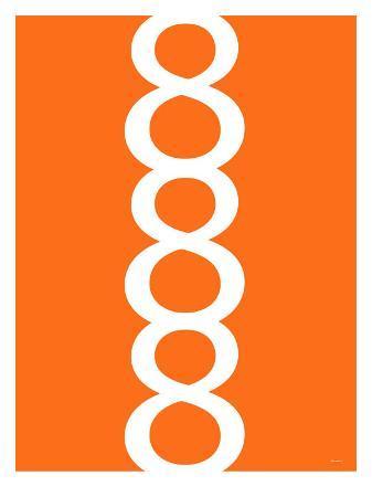 avalisa-orange-figure-8-design