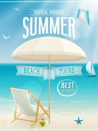 avean-summer-tropical-poster