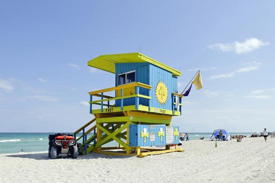 axel-schmies-beach-lifeguard-tower-74-st-atlantic-ocean-miami-south-beach-florida-usa