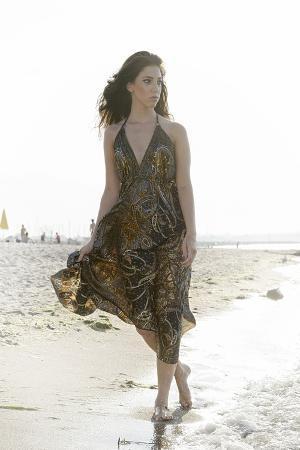 axel-schmies-woman-young-summer-dress-sandy-beach-niendorf-on-the-baltic-sea