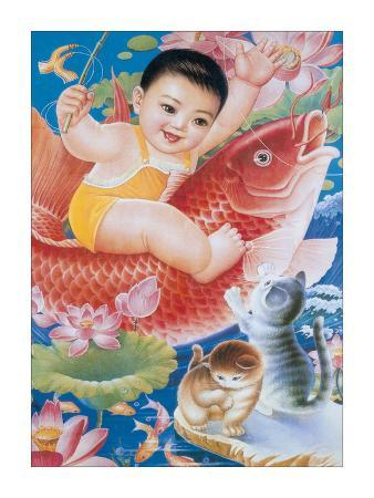 baby-riding-fish