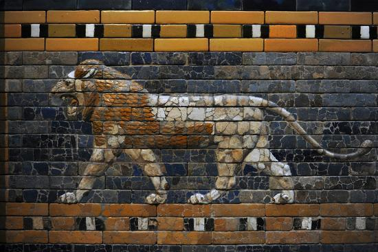 babylon-s-lion-lion-decorated-the-processional-wal-ishtar-gate-575-bc