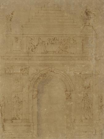 baccio-bandinelli-design-for-a-triumphal-archway