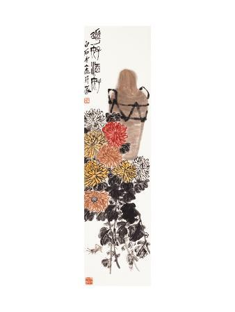 baishi-qi-wonderful-flowers-with-wine