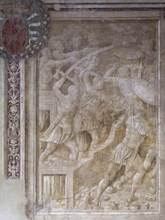 baldassare-peruzzi-breaking-down-walls-of-sarmizegetusa-scene-from-cycle-on-trajan-s-column-1511-1513