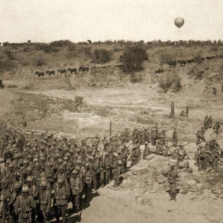 balloon-corps-transport-with-lord-roberts-army-advance-on-johannesburg-south-africa-1901