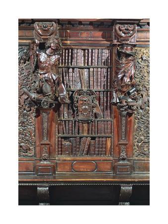 baroque-style-bookcase-from-scuola-grande-di-san-rocco-carved-by-francesco-pianta-younger