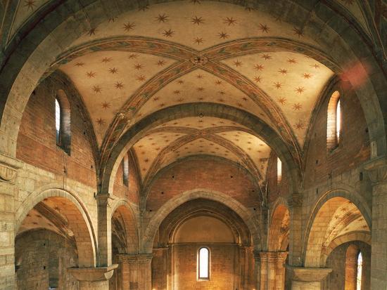 barrel-vaults-church-of-san-lorenzo-trento-trentino-alto-adige-italy-12th-century