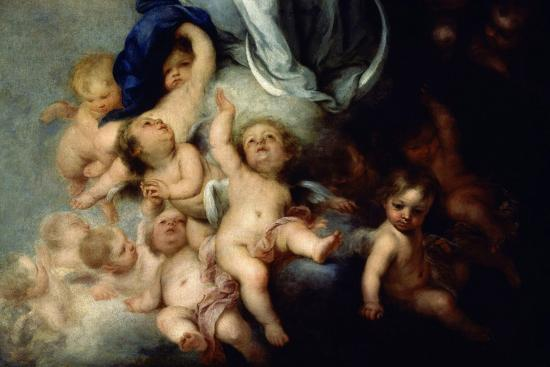 bartolome-esteban-murillo-the-immaculate-conception-of-soult-detail-1678-spanish-baroque