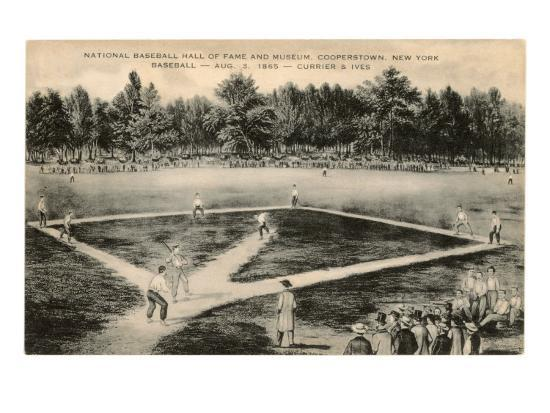 baseball-game-by-currier-and-ives