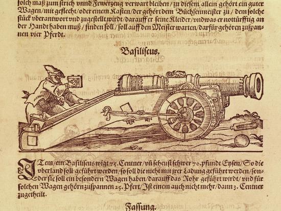 basilisk-or-double-culverin-from-kriegbuch-1575