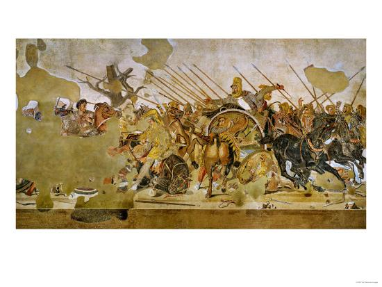 battle-between-alexander-the-great-and-king-dareios-battle-of-issos